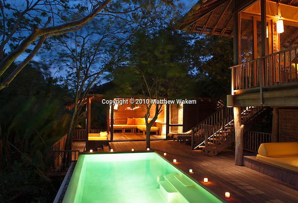 A two-bedroom private pool villa at Six Senses Hideaway Yao Noi. Thailand.