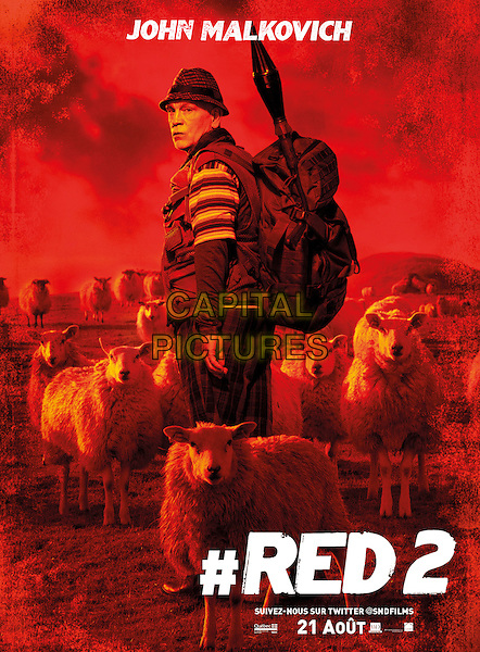 FRENCH POSTER ART<br /> in RED 2 (2013) <br /> *Filmstill - Editorial Use Only*<br /> CAP/NFS<br /> Image supplied by Capital Pictures