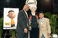 PHILADELPHIA, PA - JULY 12:  Mar Mar Tidbit, Harriet Glickman and Mayor Michael Nutter pictured at NAACP Convention at the Convention Center  on July 12, 2015 in Philadelphia,Pa  photo credit Star Shooter / MediaPunch  HOUSE COVERAGE