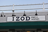 A Izod store is pictured at Lee Premium Outlets in Lee (MA), Tuesday October 1, 2013.