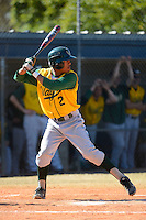 Wayne State Warriors shortstop Kenny Davis #2 during a game against Slippery Rock at Chain of Lakes Stadium on March 15, 2013 in Winter Haven, Florida.  Illinois State defeated Long Island 6-4.  (Mike Janes/Four Seam Images)