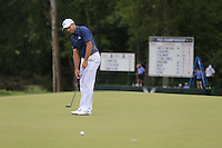 Sergio Garcia (ESP) putts on the 8th green during Thursday's Round 1 of the 2014 PGA Championship held at the Valhalla Club, Louisville, Kentucky.: Picture Eoin Clarke, www.golffile.ie: 7th August 2014
