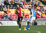 Partick Thistle v St Johnstone&hellip;10.09.16..  Firhill  SPFL<br />Steven MacLean scores the second goal<br />Picture by Graeme Hart.<br />Copyright Perthshire Picture Agency<br />Tel: 01738 623350  Mobile: 07990 594431