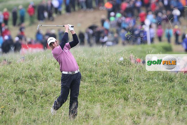 Lorenzo Gagli (ITA) on the 16th on Day 4 of the 2012 Irish Open at Royal Portrush Golf Club, Portrush, Co.Antrim, 1/7/12...(Photo Jenny Matthews/www.golffile.ie)