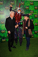 LONDON, ENGLAND - JANUARY 10: Phillip Schofield and Sir David Jason attending 'Cirque du Soleil - OVO' at the Royal Albert Hall on January 10, 2018 in London, England.<br /> CAP/MAR<br /> &copy;MAR/Capital Pictures