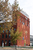 Manufactura remodeled textile factory a center for entertainment culture and shopping. Balucki District Lodz Central Poland
