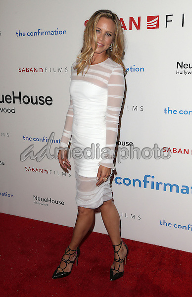 "15 March 2016 - Hollywood, California - Maria Bello. ""The Confirmation"" Los Angeles Premiere held at NeueHouse Hollywood. Photo Credit: Sammi/AdMedia"