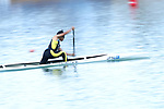 Megumi Tsubota (JPN), <br /> AUGUST 31, 2018 - Canoe Sprint : <br /> Women's Canoe Single 200m  Semi-final <br /> at Jakabaring Sport Center Lake <br /> during the 2018 Jakarta Palembang Asian Games <br /> in Palembang, Indonesia. <br /> (Photo by Yohei Osada/AFLO SPORT)
