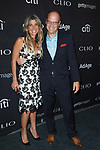 Nicole Purcell and Josh Golden arrive at the 2017 Clio Awards in The Tent at Lincoln Center in New York City on September 27, 2017.