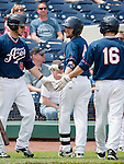 Reno Aces  against the Fresno Grizzlies during their game played on Sunday afternoon, April 28, 2013 in Reno, Nevada.