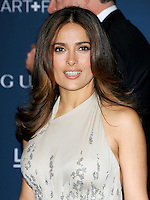 LOS ANGELES, CA - NOVEMBER 02: Salma Hayek at  LACMA 2013 Art + Film Gala held at LACMA  in Los Angeles, California on November 2nd, 2012 in Los Angeles, CA., USA.<br /> CAP/DVS<br /> &copy;DVS/Capital Pictures
