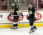 Paul Russo (Bryant - 9), Patrick Graydon (Bryant - 15) - The Boston College Eagles defeated the Bryant University Bulldogs 2-1 on Saturday, December 11, 2010, at Conte Forum in Chestnut Hill, Massachusetts.