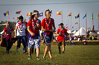 Scouts arriving to the mid event. Photo: Mikko Roininen / Scouterna