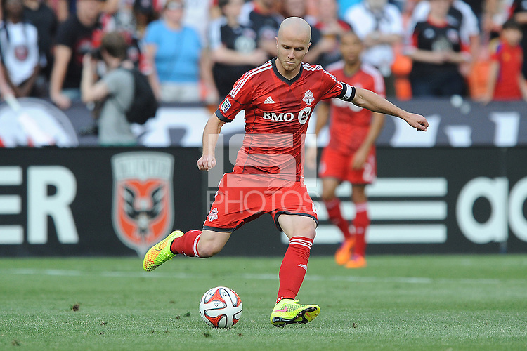 Washington D.C. - February 7, 2015: Toronto FC 2014 season player's recap, at RFK Stadium.