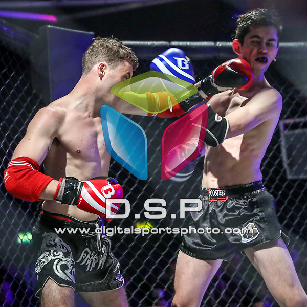 John Hunter Vs Dean Hughes - C Class Thai During Fast and Furious Fight Series 17. Photo by: Stephen Smith<br /> <br /> Saturday 18th November 2017 - Oceana, Southampton, Hampshire, United Kingdom.