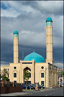 BNPS.co.uk (01202 558833)<br /> Pic: HistoricEngland/BNPS<br /> <br /> Madina Masjid in Sheffield,<br /> <br /> A new book from Historic England reveals the spread of Mosque building across Britain.<br /> <br /> The book provide a fascinating insight into the diversity of Britain's 1,500 mosques.<br /> <br /> They range from humble house conversions where small groups gather to magnificent purpose-built complexes which can accommodate thousands of worshippers.<br /> <br /> Architect Shahed Saleem, who has designed a mosque in Hackney, east London, has produced the first comprehensive overview of Islamic architecture on these shores in his new book, The British Mosque.