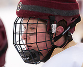 Zach Walker (BC - 14) - The Boston College Eagles practiced on the rink at Fenway Park on Friday, January 6, 2017.