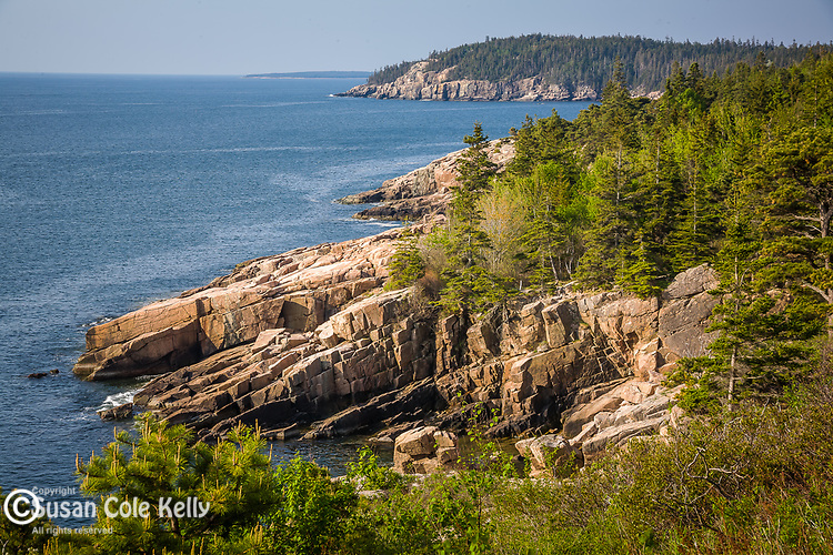 Otter Cliffs near Otter Point in Acadia National Park,  Downeast ME