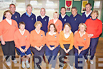 Members of the Ballyheigue Golf team who took part in the Kerry Nines final on Saturday afternoon. Seated l/r Ann Leahy, Lady President Eilish Delaney-Dalton, Lady Capt. Anne Hill, Geraldine Williams and Mary Dowling, Standing l/r Marian Barrett, Oliver O'Halloran, Tony Grace, Jerry Horan, Kathleen Harty, Paul O'Connor, Brendan Dunne, Manager & Team Capt. Joe O'Connor and Betty Williams................................................................................................................................................................................................................................................................................................. ............