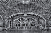 Entrance to the famous Oyster Bar Restaurant on the lower level of Grand Central Terminal in New York City, New York, USA