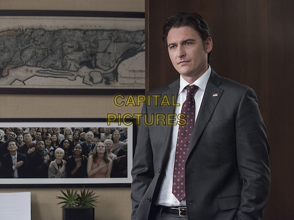 Billions  (2016-)<br /> (Season 1)<br /> Toby Leonard Moore as Bryan Connerty <br /> *Filmstill - Editorial Use Only*<br /> CAP/FB<br /> Image supplied by Capital Pictures