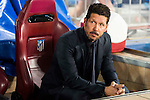 Atletico de Madrid's coach Diego Pablo Simeone during match of UEFA Champions League at Vicente Calderon Stadium in Madrid. September 28, Spain. 2016. (ALTERPHOTOS/BorjaB.Hojas)