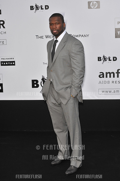 "Curtis ""50 Cent"" Jackson at amfAR's Cinema Against AIDS Gala at the Hotel du Cap d'Antibes..May 21, 2009  Antibes, France.Picture: Paul Smith / Featureflash"