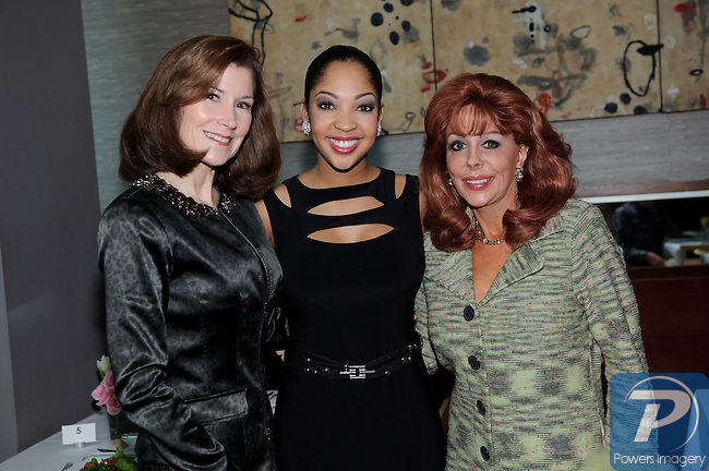 Ann Marie Griffin, Cariessa Cameron (M.A. 2010) and Wendy Roberts at the 90th Anniversary Miss America luncheon held at Nieman Marcus inside the Fashion Show Mall, Las Vegas, NV, January 13, 2011 © Al Powers / Vegas Magazine