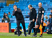 Leeds United assistant coach Diego Flores shouts instructions to his team from the technical area<br /> <br /> Photographer Alex Dodd/CameraSport<br /> <br /> The EFL Sky Bet Championship - Leeds United v Bolton Wanderers - Saturday 23rd February 2019 - Elland Road - Leeds<br /> <br /> World Copyright © 2019 CameraSport. All rights reserved. 43 Linden Ave. Countesthorpe. Leicester. England. LE8 5PG - Tel: +44 (0) 116 277 4147 - admin@camerasport.com - www.camerasport.com