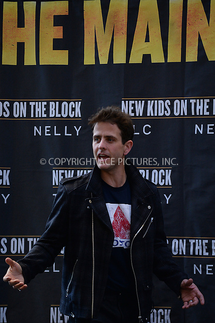 WWW.ACEPIXS.COM<br /> January 20, 2015 New York City<br /> <br /> Joey McIntyre attending a New Kids on The Block Press Conference at Madison Square Garden on January 20, 2015 in New York City. <br /> <br /> By Line: Kristin Callahan/ACE Pictures<br /> ACE Pictures, Inc.<br /> tel: 646 769 0430<br /> Email: info@acepixs.com<br /> www.acepixs.com