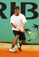 30-05-2004, Paris, tennis, Roland Garros, de Rijke
