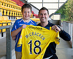 St Johnstone Players Sponsors Night, McDiarmid Park...09.05.12.David McCracken.Picture by Graeme Hart..Copyright Perthshire Picture Agency.Tel: 01738 623350  Mobile: 07990 594431
