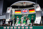 Lewis HAMILTON, GBR, Team Mercedes-AMG-Petronas Formula One, race winner with Nico ROSBERG, runner up and Sebastian VETTEL, GER, RedBull Racing,3rd place -     <br /> Team Infiniti Red Bull Racing,<br /> SUZUKA, JAPAN, 05.10.2014, Formula One F1 race, podium, JAPAN Grand Prix, Grosser Preis, GP du Japon, Motorsport, Photo by: Sho TAMURA/AFLO SPORT  -  GERMANY OUT