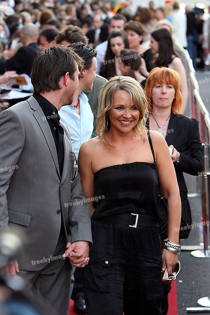 Red Carpet arrivals for the Australian Premiere of the movie December Boys, 9-9-07. Cast Member Carla Bonner on the red Carpet. ..