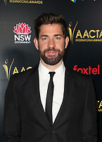 4 January 2019 - West Hollywood, California - John Krasinski. the 8th AACTA International Awards held at Skybar at Mondrian. Photo Credit: Faye Sadou/AdMedia