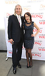 Cory Brunish and Monica Rodrigues attend 'The Play That Goes Wrong' Broadway Opening Night at the Lyceum Theatre on April 2, 2017 in New York City.