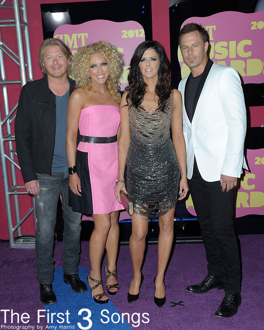 Little Big Town attends the 11th Annual CMT Awards in Nashville, TN on June 6, 2012.
