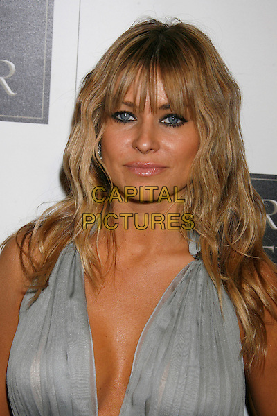 CARMEN ELECTRA.Dr. Rey?s Shapewear Launch Party.at (Club) Opera , Hollywood, CA, USA,.October 25, 2007 .portrait headshot silver grey halterneck .CAP/LNC/JAM.©LNC/Capital Pictures.