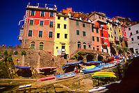 Riomaggiore, Cinque Terre National Park, Italy