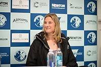Putney, London,  Tideway Week, Championship Course. River Thames, Umpires, Press Conference, Sarah WINCKLESS. <br /> <br /> Friday 31.03.2017<br /> <br /> [Mandatory Credit; Credit: Peter SPURRIER/Intersport Images.com ]