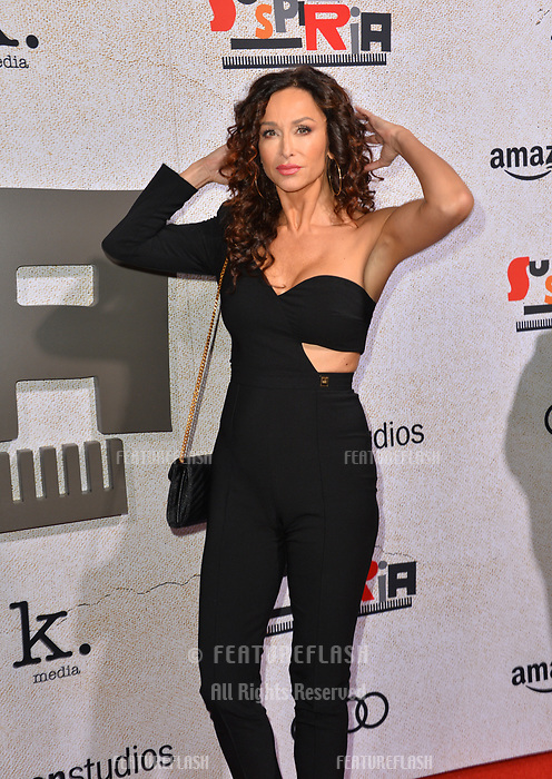 LOS ANGELES, CA. October 24, 2018: Sofia Milos at the Los Angeles premiere for &quot;Suspiria&quot; at the Cinerama Dome.<br /> Picture: Paul Smith/Featureflash