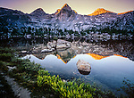 Rae Lakes,Kings Canyon National Park,Sierra Nevada Range,California