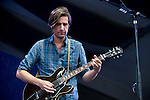 Tyler Ramsey of Band of Horses performs during the New Orleans Jazz & Heritage Festival in New Orleans, LA.