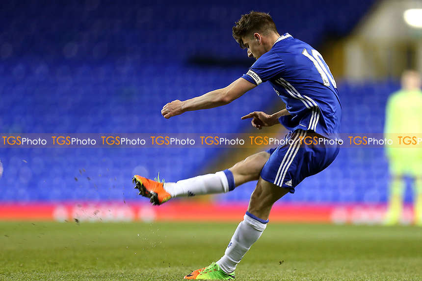 Mason Mount of Chelsea during Tottenham Hotspur Youth vs Chelsea Youth, FA Youth Cup Football at White Hart Lane on 14th March 2017