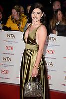 Lauren Steadman<br /> arriving for the National TV Awards 2019 at the O2 Arena, London<br /> <br /> ©Ash Knotek  D3473  22/01/2019