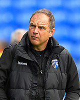 Gillingham Manager Steve Lovell during Portsmouth vs Gillingham, Sky Bet EFL League 1 Football at Fratton Park on 10th March 2018