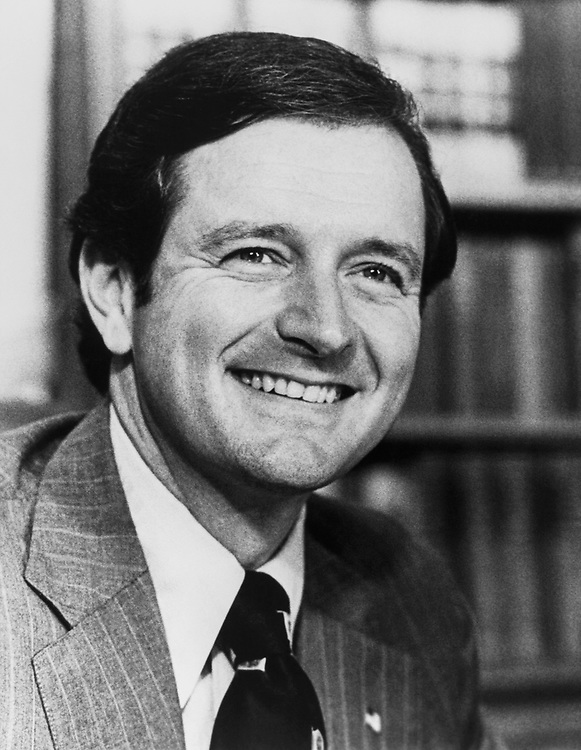 Rep. Henson Moore, R-La. on Aug. 18, 1983. (Photo by CQ Roll Call)