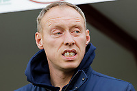 Swansea City manager Steve Cooper watches the game from the technical area during the Sky Bet Championship match between Barnsley and Swansea City at Oakwell Stadium, Barnsley, England, UK. Saturday 19 October 2019