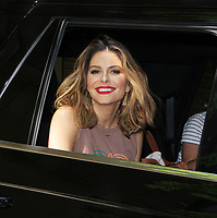 NEW YORK, NY August 08: Maria Menounos seen after guest hosting on Live With Kelly &amp; Ryan in New York City on August 08, 2018. <br /> CAP/MPI/RW<br /> &copy;RW/MPI/Capital Pictures