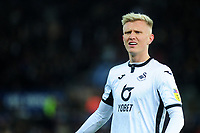 Sam Surridge of Swansea City during the Sky Bet Championship match between Swansea City and Millwall at the Liberty Stadium in Swansea, Wales, UK. Saturday 23rd November 2019
